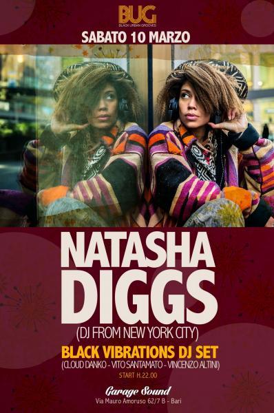 DJ NATASHA DIGGS//BLACK VIBRATIONS DJ SET//BUG & GARAGE SOUND