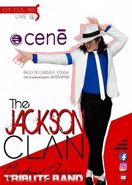 The JACKSON CLAN Live@ CENè