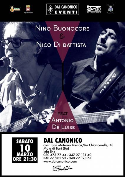 Nino Buonocore e Nico di Battista duo feat. Antonio De Luise