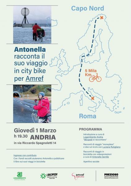 Racconti di Viaggio - In City Bike da Roma a Capo Nord