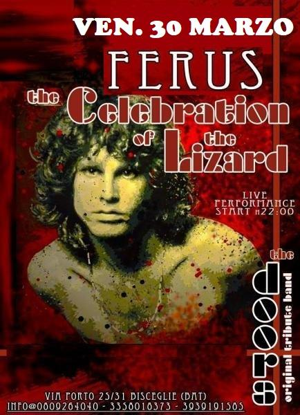 "The DOORS Live Tribute con i ""CELEBRATION of the LIZARD"""