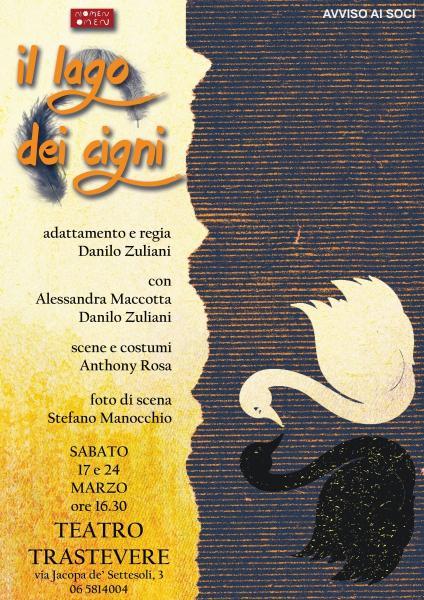 """""""Il lago dei cigni"""", fiaba d'amore raccontata fra luci e ombre al Teatro Trastevere"""
