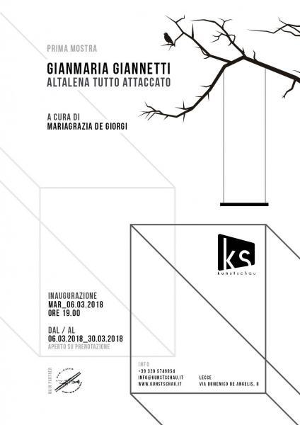 Gianmaria Giannetti Altalena Tutto Attaccato