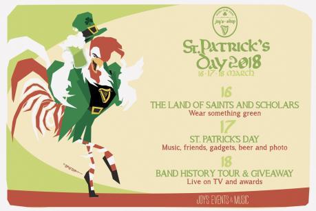 ST. PATRICK'S DAY  La grande festa celtica dell'anno @Joy's Pub Bari