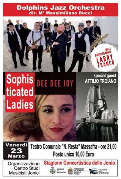 SOPHISTICATED LADIES - DEE DEE JOY & la DOLPHINS JAZZ ORCHESTRA