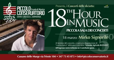 18th Hour in Music: MIRKO SIGNORILE