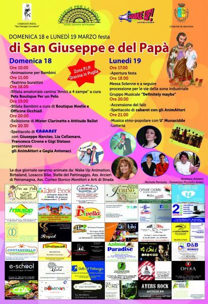 XV° edizione Festa di San Giuseppe e del Papà