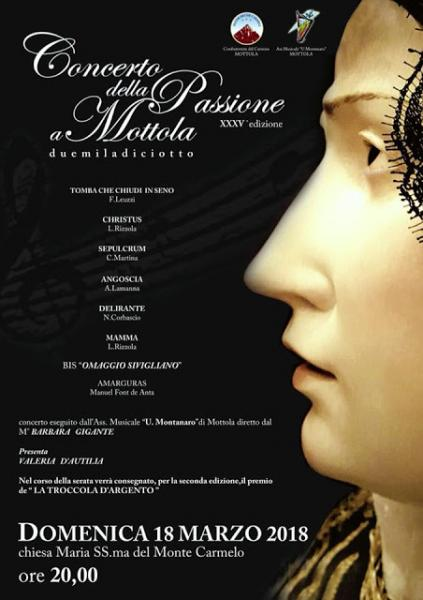 Concerto della Passione a Mottola XXXV edizione
