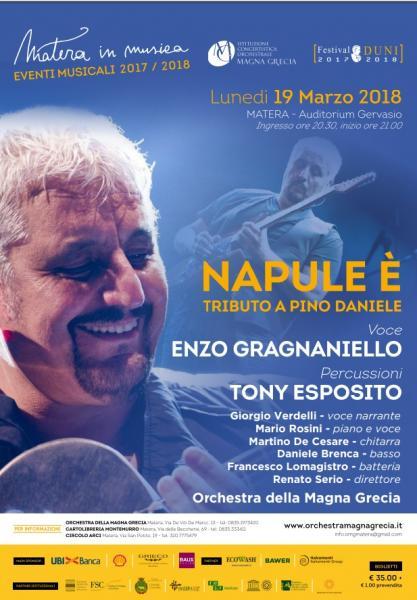 NAPULE E' - TRIBUTO A PINO DANIELE CON L'ORCHESTRA DELLA MAGNA GRECIA