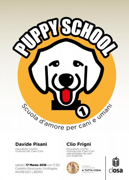 Puppy school - scuola d'amore per cani ed umani