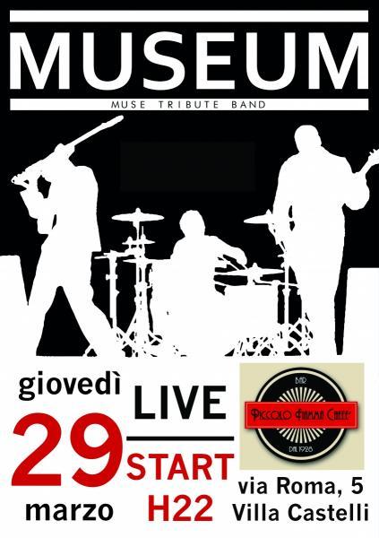 MuseuM - Muse Tribute Band LIVE @ Bar Piccolo Fiamma