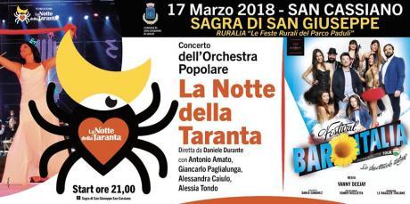 42^ sagra di san Giuseppe e pizzica con l'Orchestra Popolare Notte della Taranta