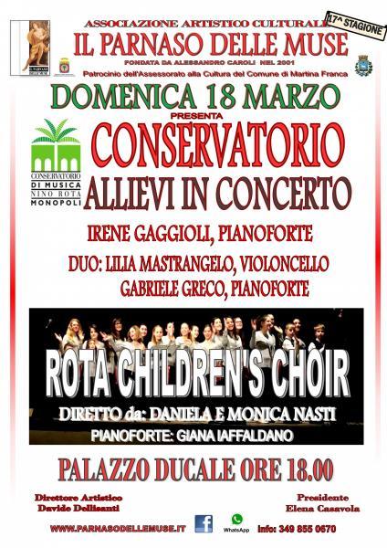 Concerto giovani allievi Conservatorio di Monopoli