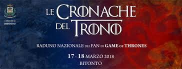 Le cronache del trono – Raduno Nazionale dei Fan di Game of Thrones