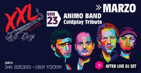 Animo Band (Tributo Coldplay) at XXL Music Pub