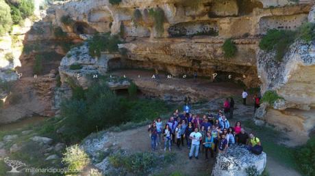 Escursione nella gravina di Riggio a Grottaglie