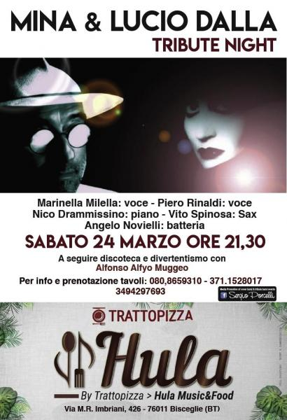 Mina & Lucio Dalla Tribute Night a Bisceglie