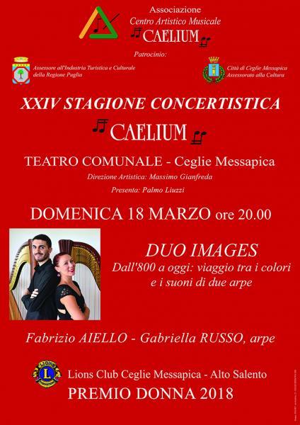 XXIV STAGIONE CONCERTISTICA CAELIUM