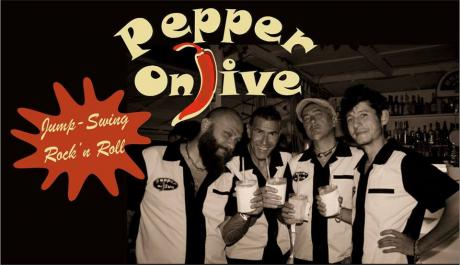 Pepper on Jive -  Jump - Swing - Rock'n'Roll live