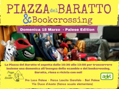 PIAZZA DEL BARATTO E BOOKCROSSING - Palese Edition