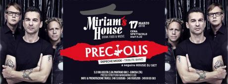 Miriam's House presenta: Precious - Depeche Mode tribute_17.03
