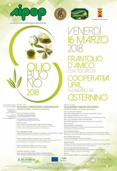 OLIO BUONO 2018 TRA CISTERNINO E LATIANO