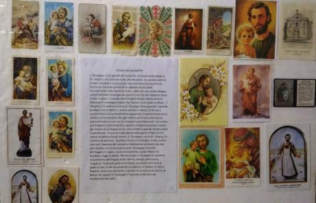 MOTTOLA (TA).   Da sabato 17, una mostra su Santini e Devozione popolare Al via le iniziative per la festività di San Giuseppe