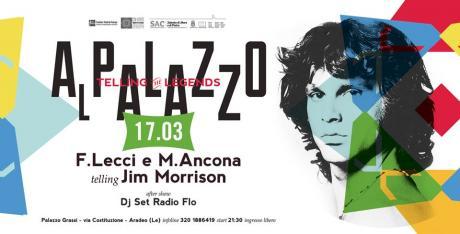 """""""Al Palazzo - Telling The Legends"""" con Fabio Lecci e Marco Ancona"""