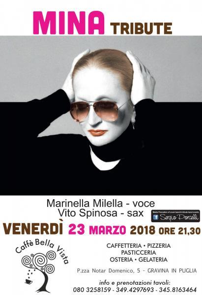 Mina tribute night - Gravina in Puglia