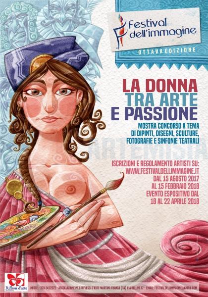 FESTIVAL DELL'IMMAGINE ottava edizione LA DONNA TRA ARTE E PASSIONE