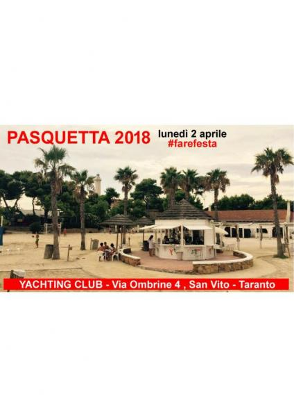 Pasquetta allo Yachting Club Taranto