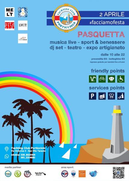 Pasquetta allo Yachting Club San Vito - Taranto