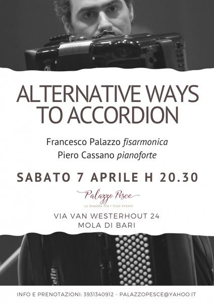 """Alternative ways to Accordion"" - Francesco Palazzo alla fisarmonica"