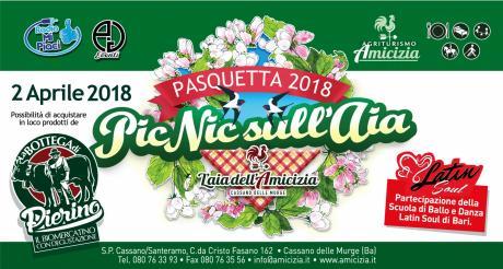PASQUETTA 2018 - PIC NIC SULL'AIA