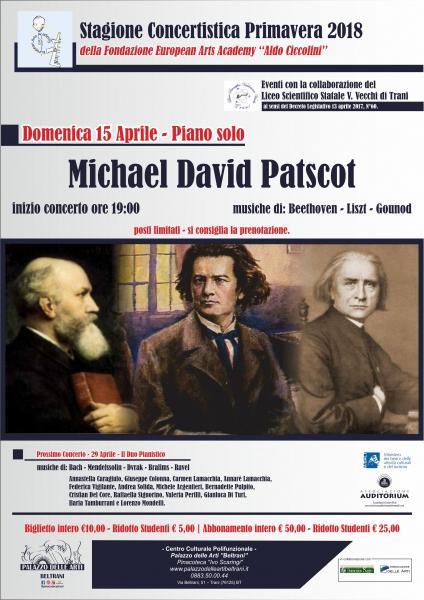Concerto di piano solo - Michael David Patscot