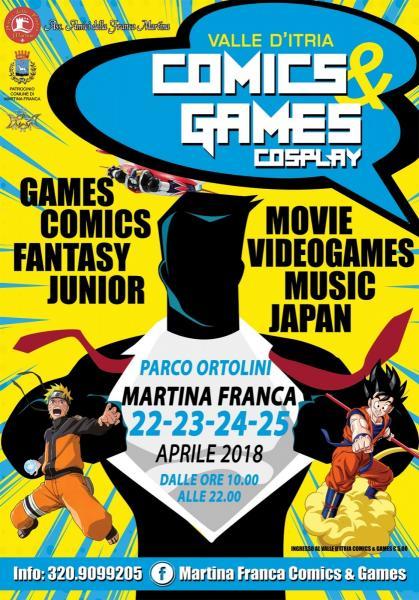 Valle d'itria comicsandgames Martina Franca
