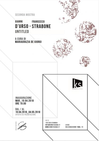 "Gianni D'Urso / Francesco Strabone - ""Untitled"""