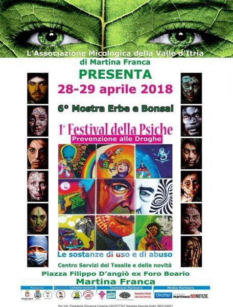 6° Mostra Erbe Spontanee e Bonsai – 1° Festival della Psiche – Sagra le Erbe della Percezione