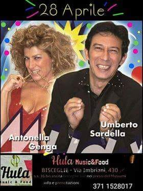 Umberto Sardella & Antonella Genga del Mudù a Bisceglie