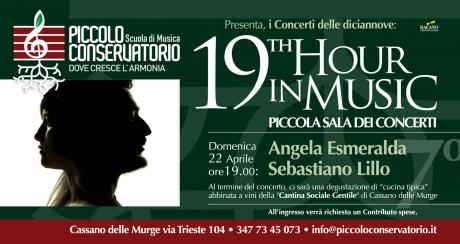 19th Hour in Music: Angela Esmeralda e Sebastiano Lillo