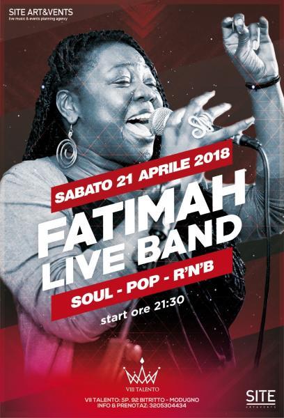 Fatimah - Live show dinner @VIII Talento