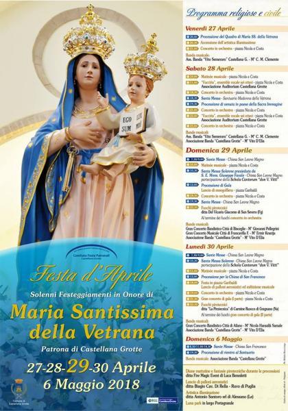 Festa patronale Maria SS. della Vetrana