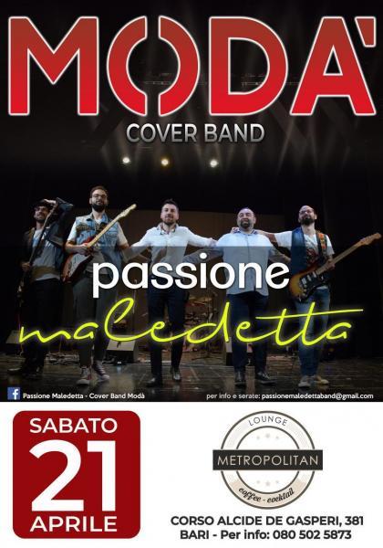 Modà: Passione Maledetta live Metropolitan Bari