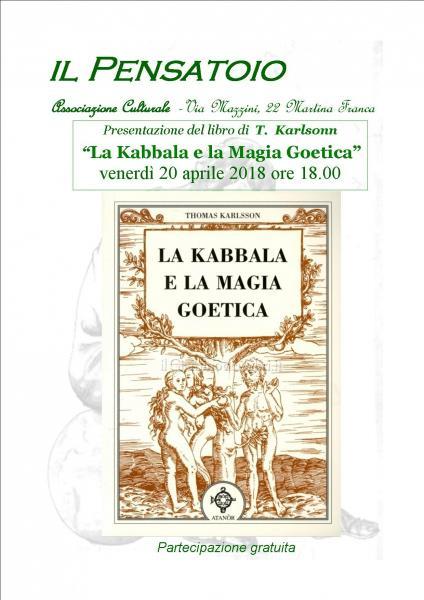 """Presentazione del libro """"La Kabbala e la Magia Goetica"""" di  T. Karlsson"""