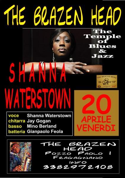 Jazz  e Blues al Brazen Head - Shanna Waterstown