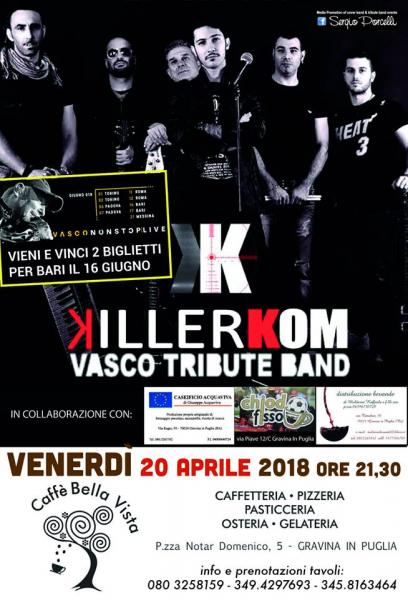 Killerkom Vasco Tribute Band a Gravina in Puglia