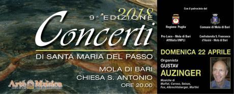 """2° Concerto del Festival Organistico Internazionale """"Santa Maria del Passo"""""""