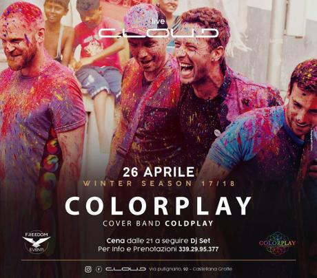 Colorplay a Coldplay experience live Cloud Castellana Grotte
