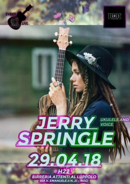 Jerry Springle | LIVE in Birreria