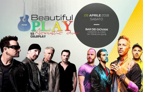 Beautiful Play U2 & Coldplay Acoustic Duo live Bar dei Giovani